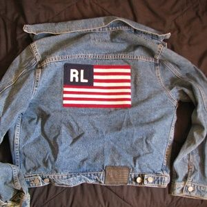 Vintage Ralph Lauren Polo Jeans Jean Jacket